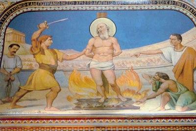 Polycarp's martyrdom