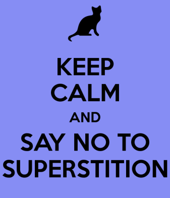 Image result for say no to superstitions