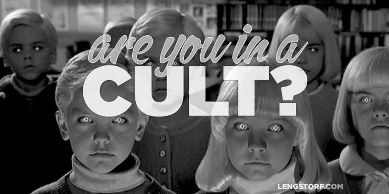 Image result for image of a cult