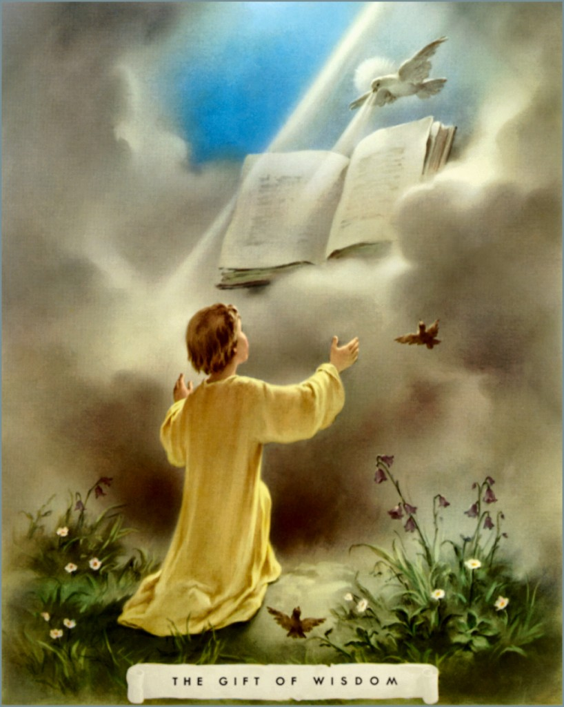 Image result for image of the wisdom of the holy spirit
